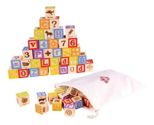 Alfabeto De Madera De Tooky Toy (tkf039)
