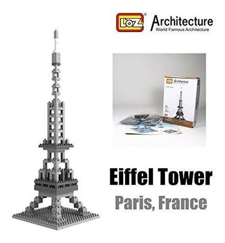 Torre Eiffel Francia Loz Diamond Blocks Architecture Nano Mi