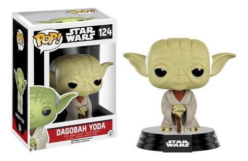 Pop! Funko Dagobah Yoda | Star Wars - #124