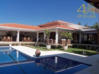Jundiaí - Casa De Alto Padrão Em Condomínio Parque Dos Manacas- Área Útil 1.000m² Terreno 5.000m² 05 Suítes Piscina 15 Vagas Para Venda. - Ca0261