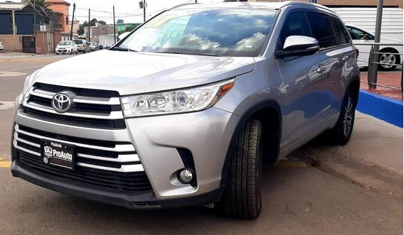 Toyota Highlander 2017 Plata