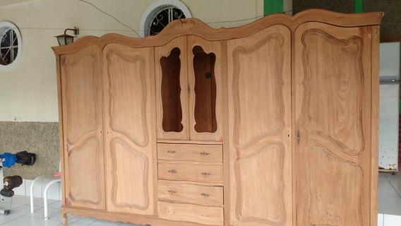 Guarda-roupa Precursor Do Chipandelle 6 Portas Raridade