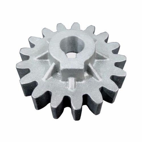 Engrenagem Z17 Aluminio Linha Industrial Chavetada