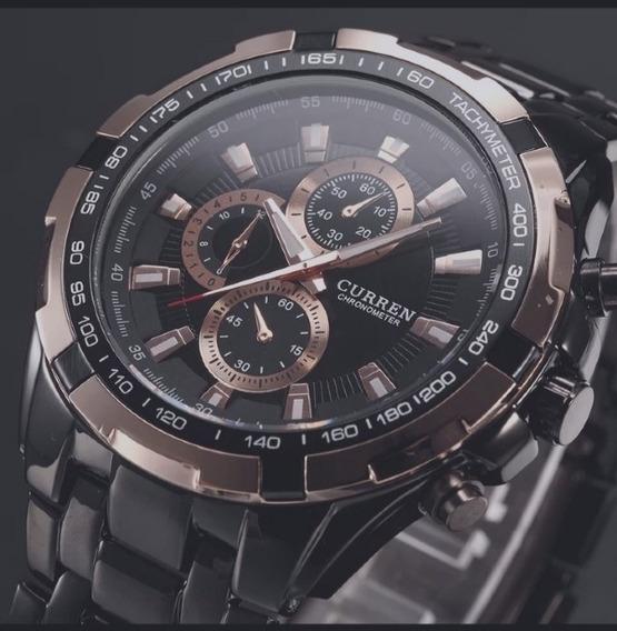 Relógio Curren Original Importado Analógico Quartzo