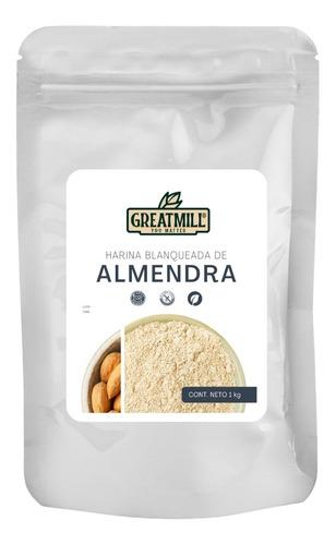 Imagen 1 de 5 de Harina De Almendras Para Macarons Comestibles Premium 1 Kg