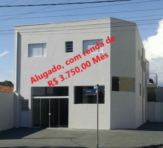 Imóvel Comercial Alugado, Com Renda Mensal De R$ 3.750,00