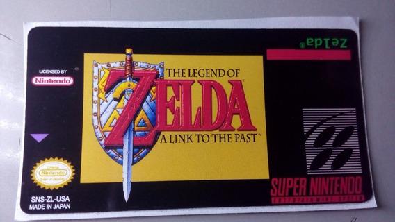 Label Zelda Snes Super Nintendo