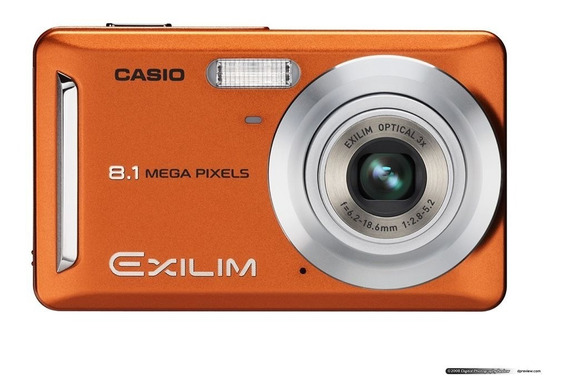 Câmera Casio 8.1 Megapixels (modelo Ex Z9)