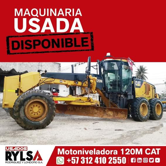 Motoniveladora Cat 120m - Motorgrader -