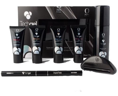 Imagen 1 de 7 de Techgel Kit Uñas De Polygel By Organic Nails + Capacitación