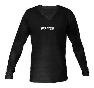 Camiseta Remera Termica Larga Df Atencion!! Es Frizada!!!