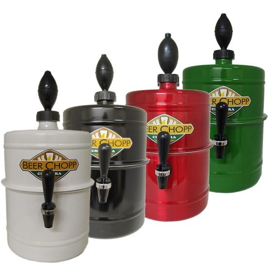 Chopera De Cerveza Fernet Portátil Premium 5,1 Lts Colores