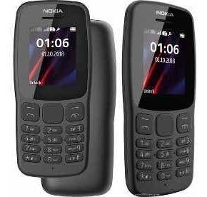 Celular Nokia 106 Lanterna Rádio Fm Novo Original Lacrado