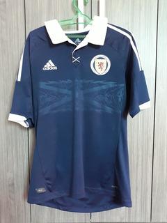 Camisa adidas Seleção Escócia 2012 Home