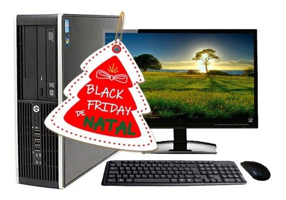 Computador Pc Completo Hp 8200 Slim I5 2°geração 4gb Hd320gb
