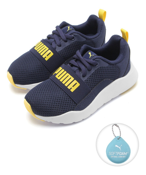 Tênis Infantil Puma Wired