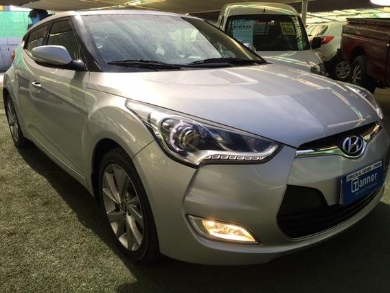 Hyundai Veloster Gls 1.6 , 2016, Credito 20% Pie