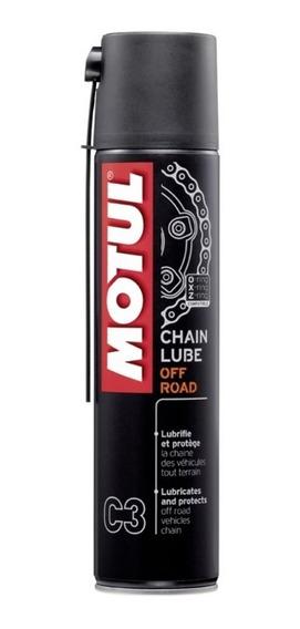 Spray Lubrificante De Corrente Motul C3 Moto Off Road