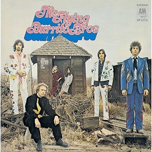 Cd : Flying Burrito Brothers - Gilded Palace Of Sin