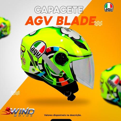 Capacete Agv Blade Verde