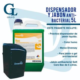 Despachador De Jabon Y Jabon De 5l ( 1 Cu )