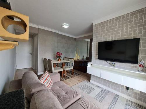 Apartamento Com 2 Dormitórios À Venda, 55 M² Por R$ 330.000,00 - Vila Das Palmeiras - Guarulhos/sp - Ap16859