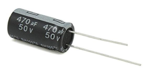 Pack X5 Condensador 470uf 50v 105c 10 Mm X 17 Mm