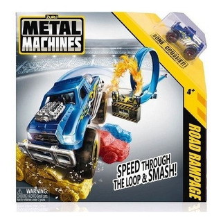 Pista De Autos Metal Machins 6701 Road R
