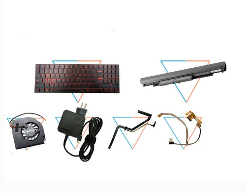 Repuestos Laptop Teclados,baterias,cargadores,ventiladores