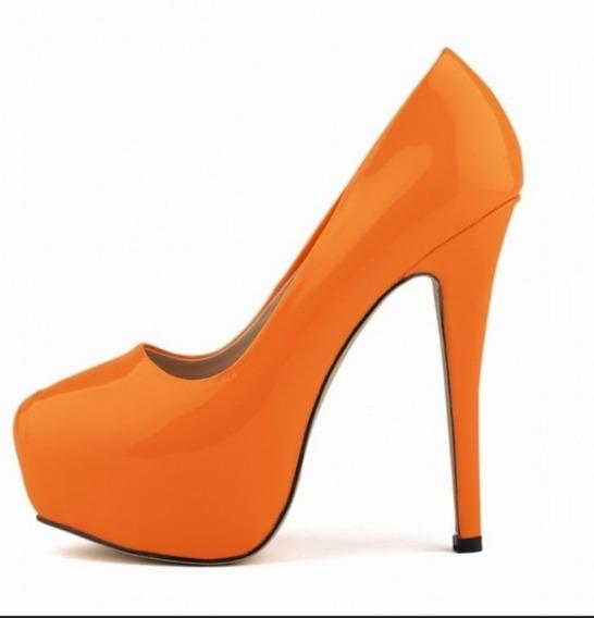 Sapato Feminino Meia Pata Diversas Cores