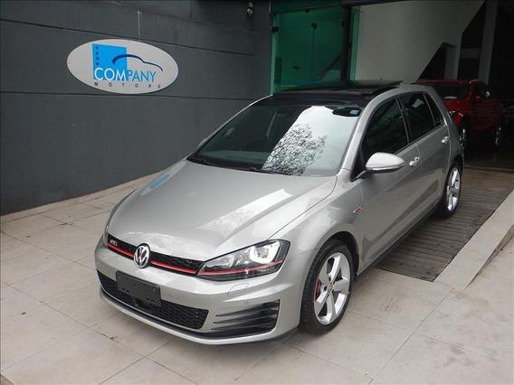 Volkswagen Golf Golf Gti 2.0t 2017 Top C/ Teto E Banco Xadre