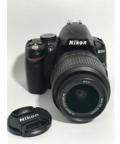 Camera Nikon D3000 Seminova Perfeita + Lente 18-55mm