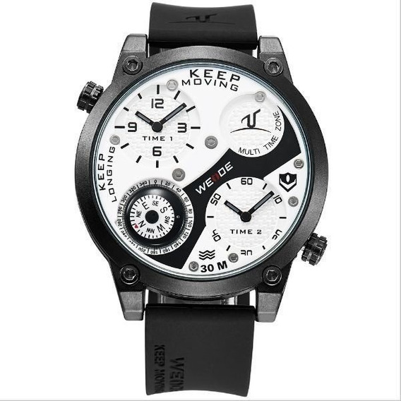 Relógio Masculino Weide Analógico Uv-1505 C/ Nf Frete Gratis