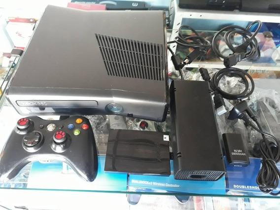 Xbox 360 Slim Desbloqueado Rgh Com 40 Jogos No Hd
