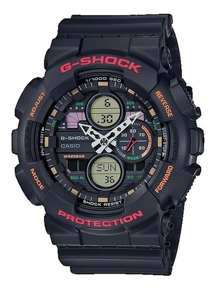 Relógio Casio Masculino G-shock Ga-140 1a4dr Lançamento
