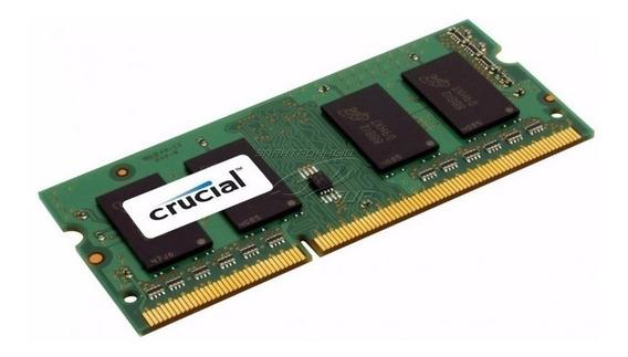 Memoria Ram Crucial Ddr3 8gb 1600mhz Cl11 1.35v