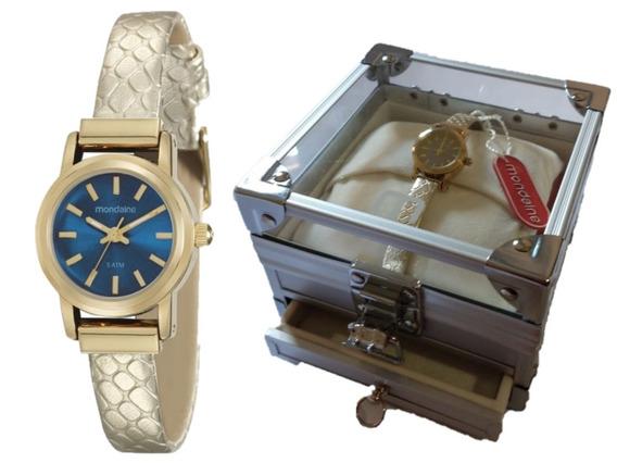 Relógio Mondaine Feminino 99096lpmvdh1k1 C/ Nf
