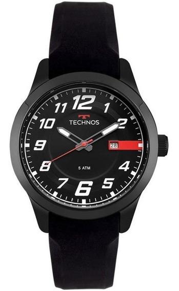 Relógio Technos Masculino Ref: 2115mov/8p Esportivo Black