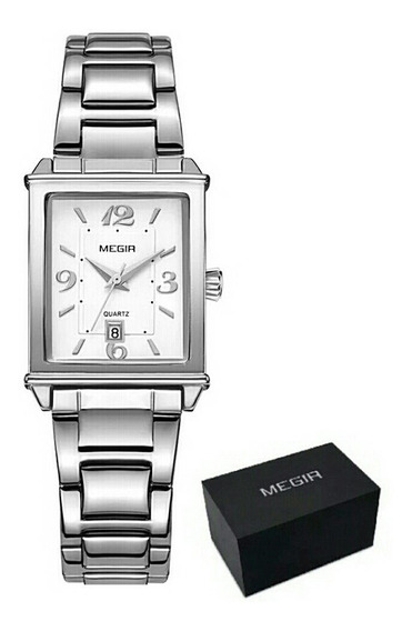Relógio Feminino Analógico Megir 1079 Original D Luxo