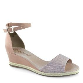 35d2ae701a Sandalias Anabela Salto Baixo Bebece - Sapatos no Mercado Livre Brasil