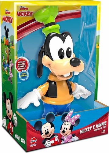 Boneco De Vinil Pateta Baby Líder Brinquedos 2892