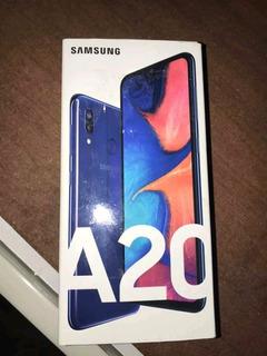 Celular Samsung A20 Liberado Dual Sim.
