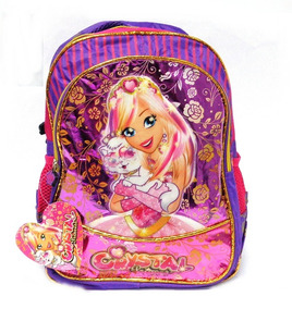 Mochila De Costas Crystal Princess Rosa P/meninas M2216