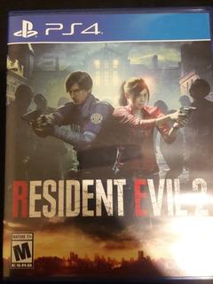 Resident Evil 2 - Playstation 4 - Ps4 - Usado Como Nuevo