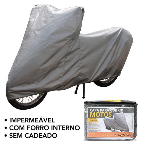 Capa Impermeável Moto S/ Cadeado Sundown Vblade   Cm4