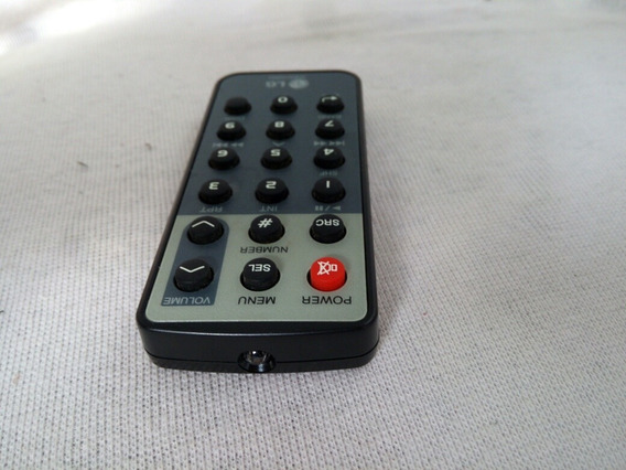 Controle Remoto Som Automotivo Lg Akb 35120903