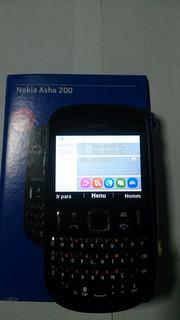 Celular Nokia Asha 200 - Dual Chip - 2.0mp - Rádio Fm - Mp3