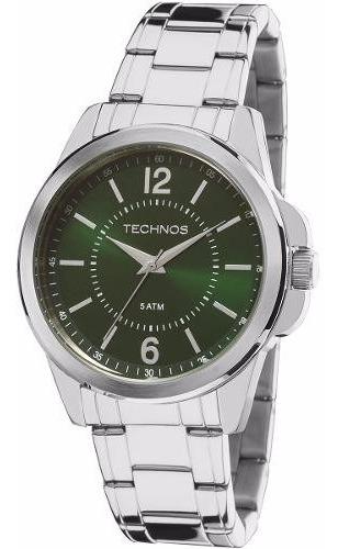 Relógio Technos Masculino Classic 2035mde/1v Verde Oferta