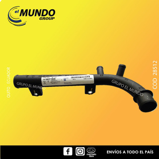 Tubo Flauta De Calefacción Chevrolet Aveo Original 96273608