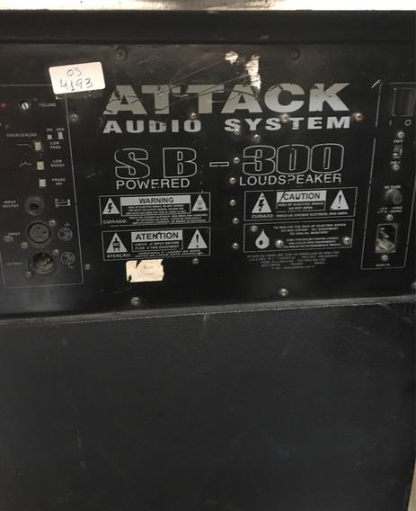 Caixa Sub Grave Attack Sb300